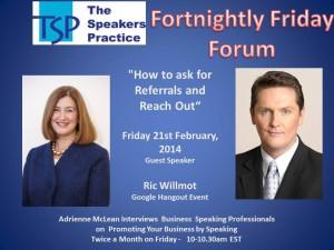 TSP-Fortnightly-Free-Friday-Forum-Ric-Willmot