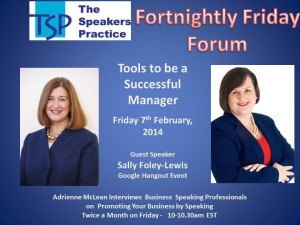 TSP-Fortnightly-Free-Friday-Forum-Sally-Foley-Lewis