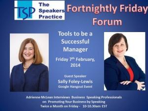TSP-Fortnightly-Free-Friday-Forum-Sally-Foley-Lewis