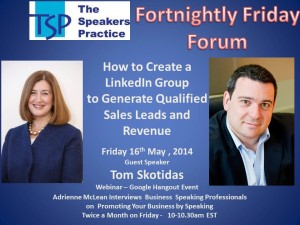 TSP-Fortnightly-Free-Friday-Forum-Tom-Skotidas-16th-May